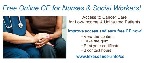 Free Online CE for Nurses and Social Workers