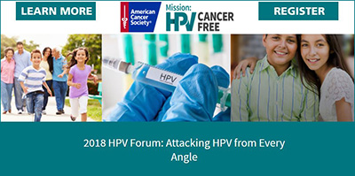 ACS HPV Forum Houston 2018