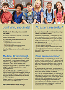 HPV Vaccine Poster