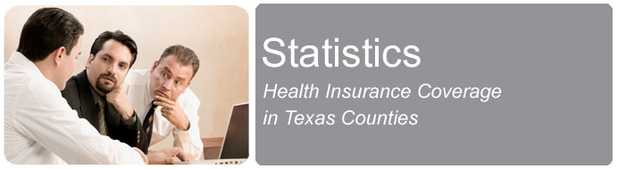 Health Insurance Coverage in Texas Counties
